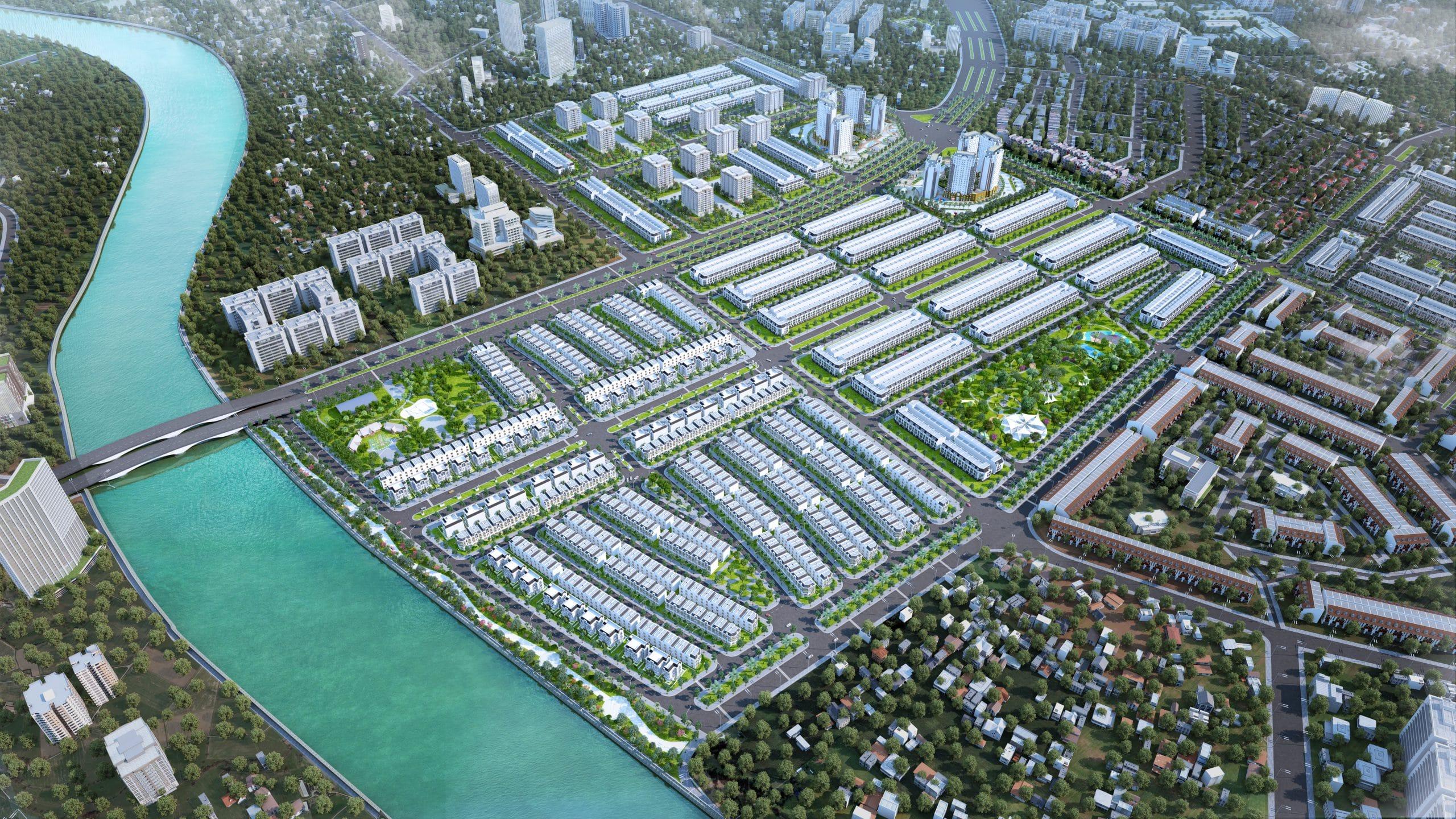 Tổng thể Dự ánLavilla Green City Long An